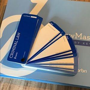 Barbri LawMaster study keys for MBE bar exam